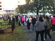 Mange mennesker! (Foto: May Lis Ruus)