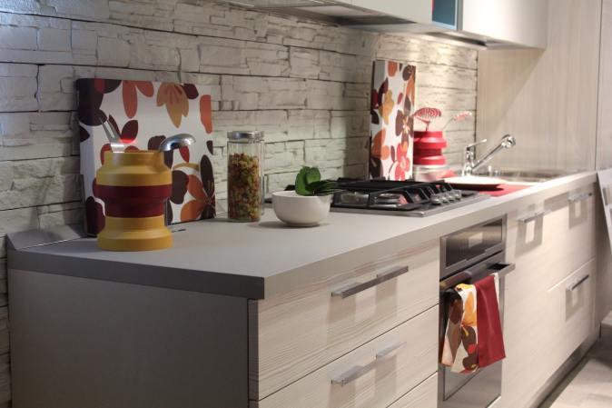 simple straight kitchen