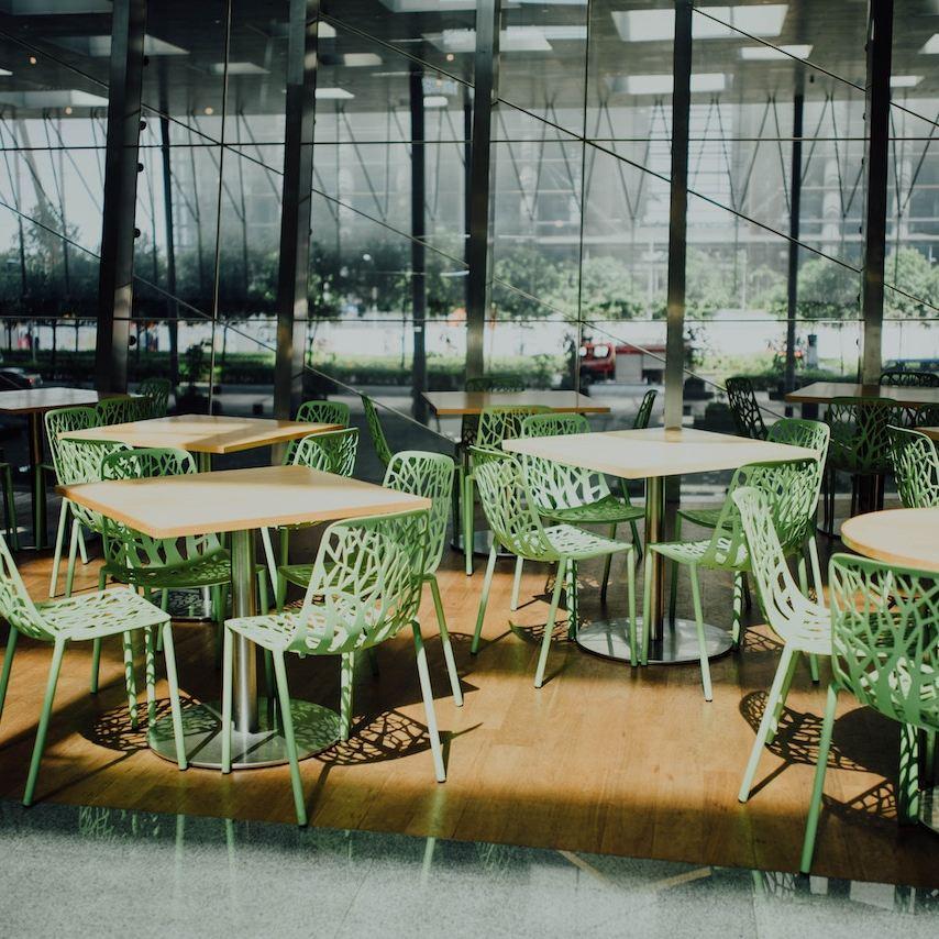 green chairs restaurant