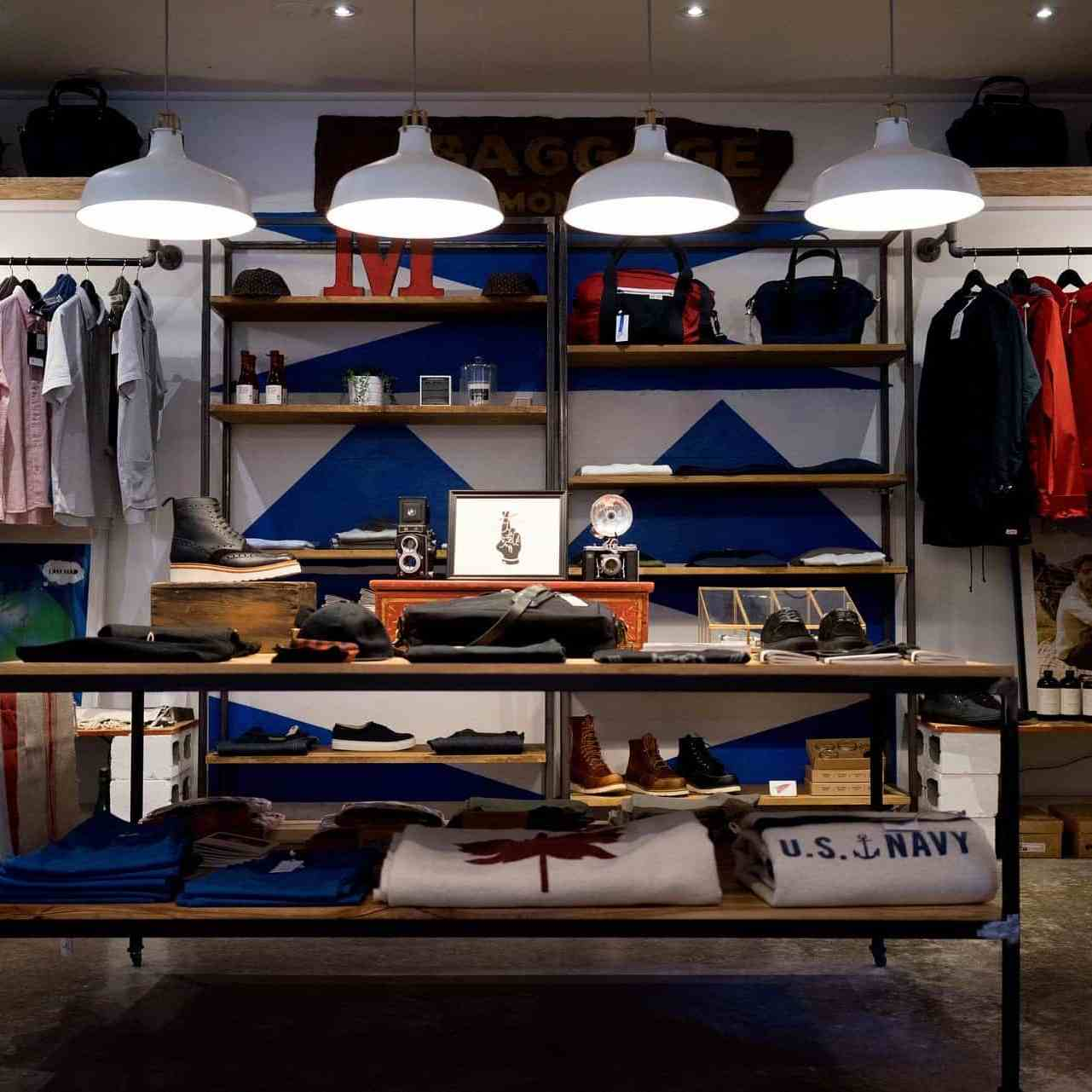 a retail store / showroom with good clean layout