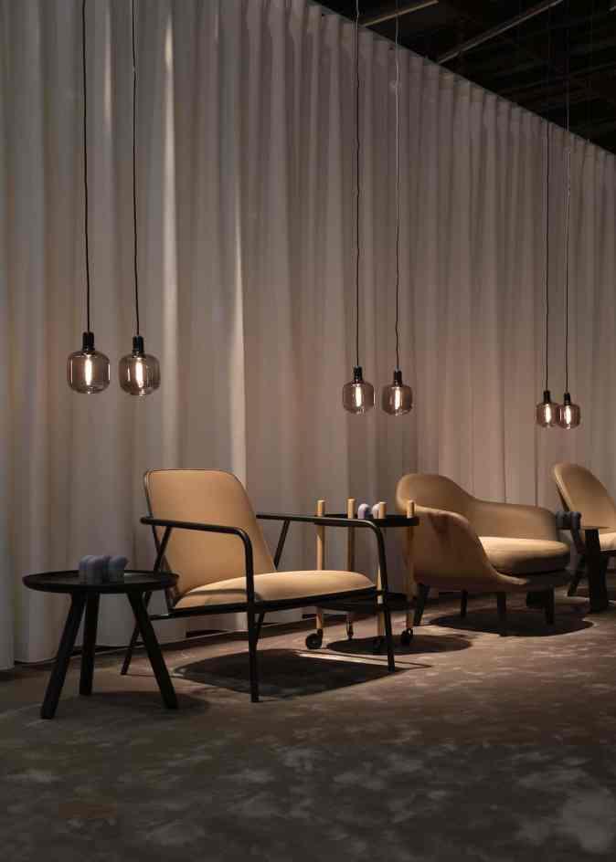 stylish european seating arrangement