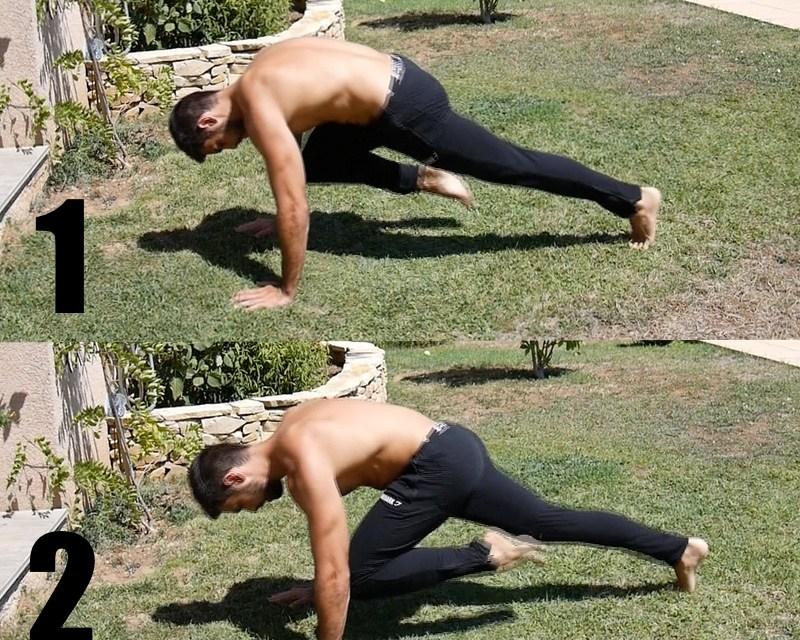 Exercice musculation: Mountain Climber