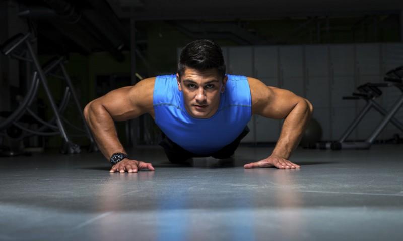 Exercice de musculation naturelle : les pompes