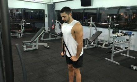 Exercice musculation: Extension Triceps à la corde
