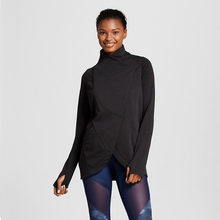 Workout Wear: Target Anna Kaiser for C9 Layering Top Sweatshirt