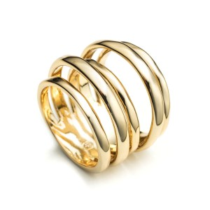 Alexis Bittar Liquid Gold Layered Ring