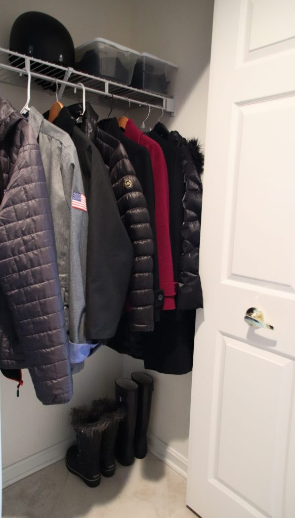 Coat Closet Organization | Closet Organization | Winter Organization