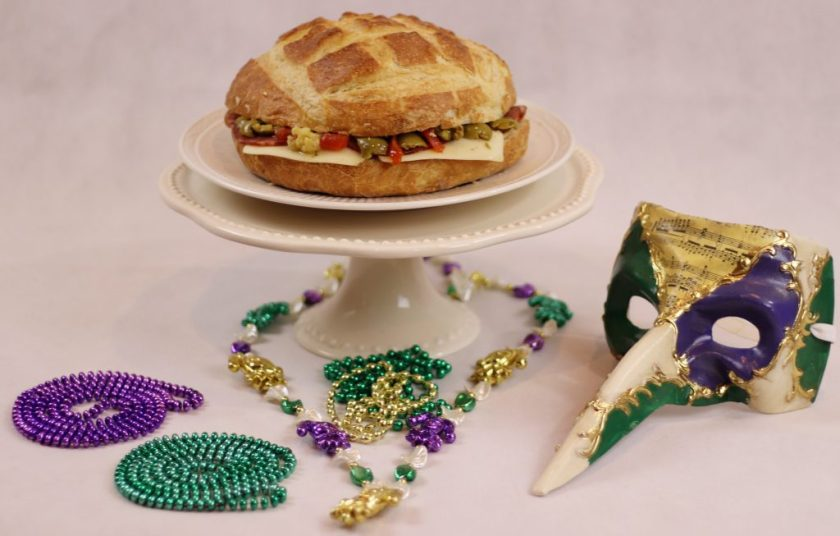 Original Muffaletta | Mardi Gras Foods | Easy Mardi Gras Foods | Tailgate Foods | Best Sandwich | Throw a Mardi Gras Party