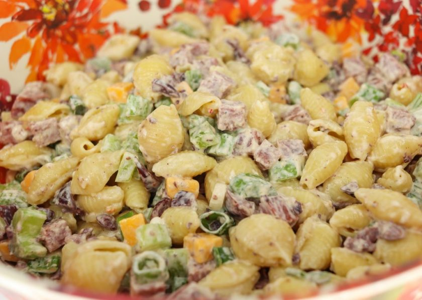 hearty pasta salad | zesty pasta salad | best pasta salad
