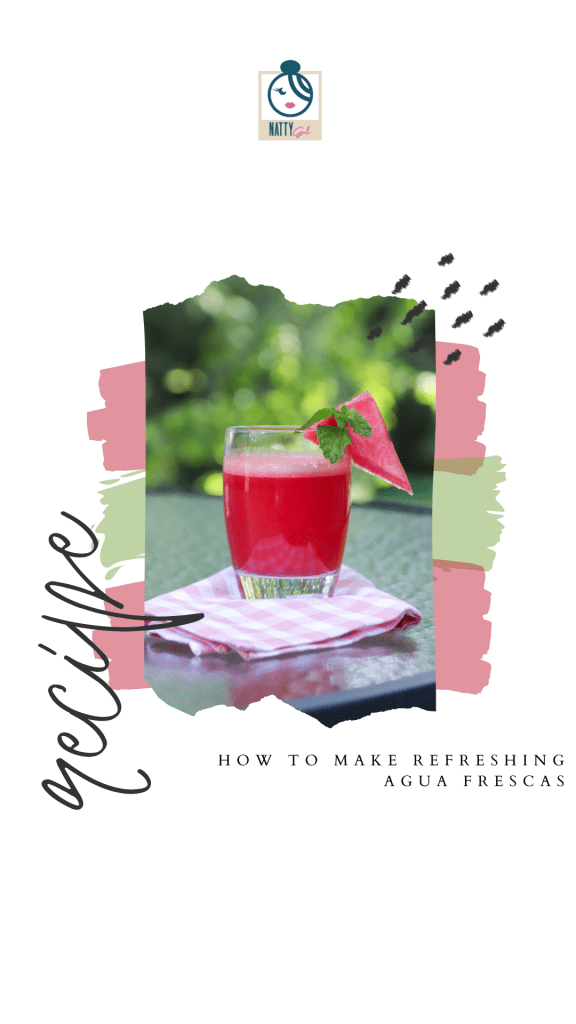 Agua frescas are perfect for summertime sipping!  Try your hand at making your own version of these light and refreshing juice-based drinks.