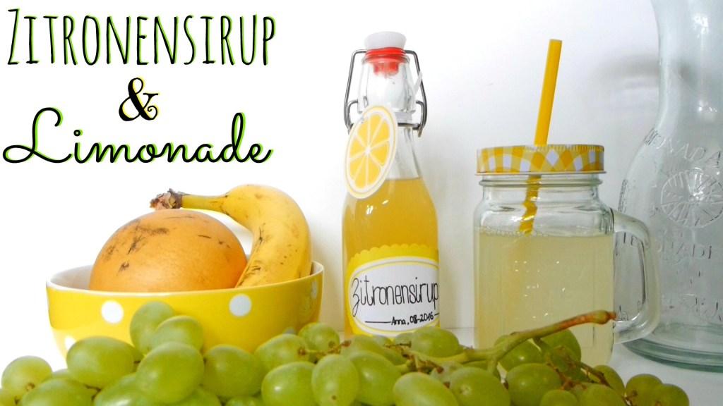 Zitronensirup Limonade selber machen DIY