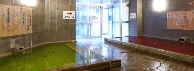 レオマの森の温泉の内風呂