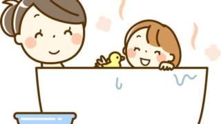 ママと子どものお風呂