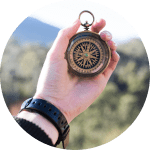 Kompass für den weiteren Lebensweg