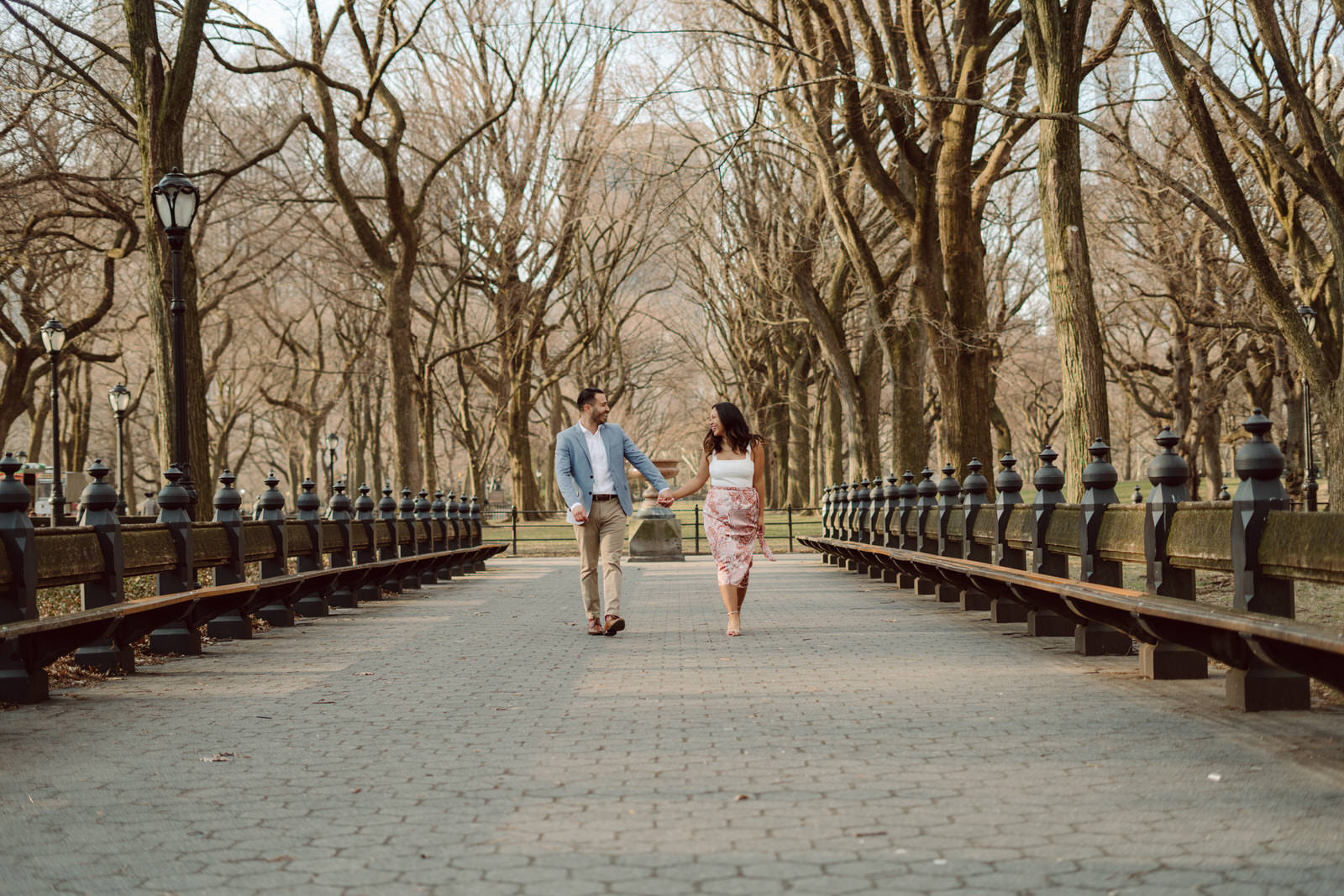 Winter Central Park Engagement Sessions