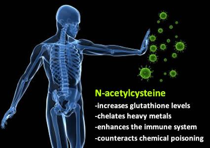 Immune-boosting N-acetylcysteine