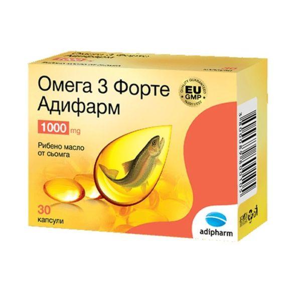 Adipharm Omega 3 x 30 capsules