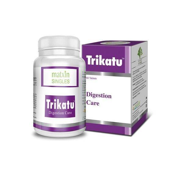 Trikatu for good digestion x60caps