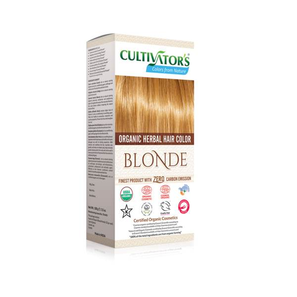 Organic herbal hair dye blond Cultivator's x100g
