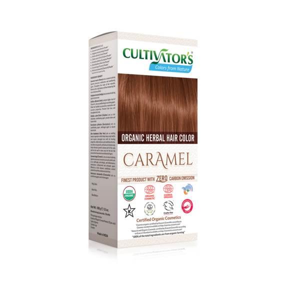 Organic herbal hair dye caramel Cultivator's x100g