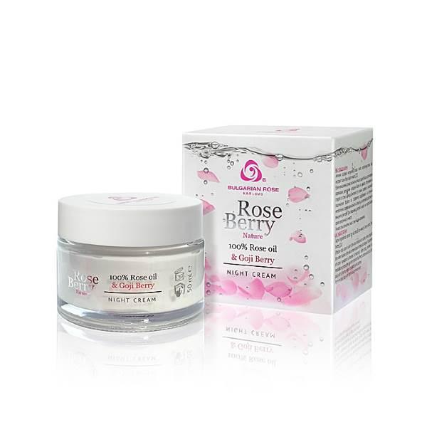 ROSE BERRY NATURE NIGHT CREAM x50 ML