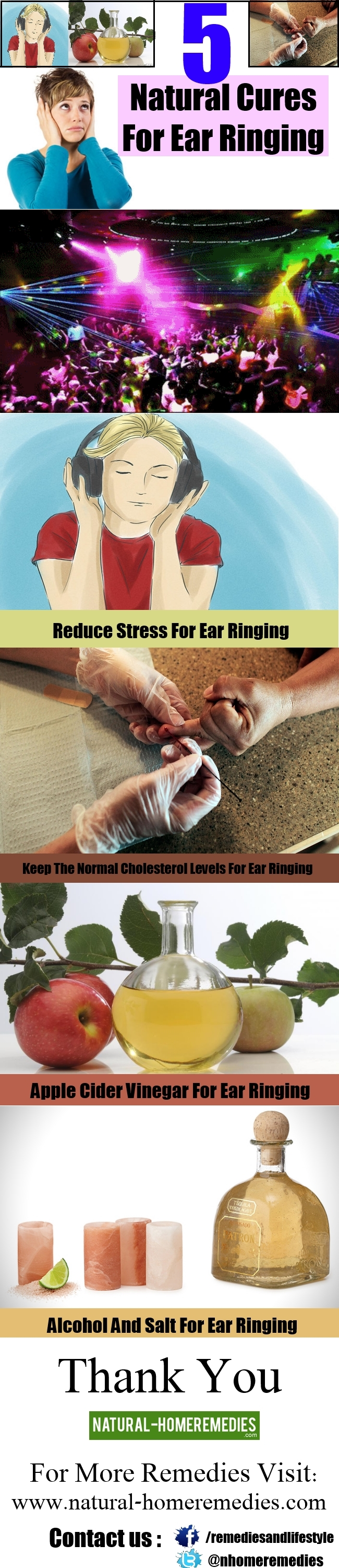 5 Natural Cures For Ear Ringing
