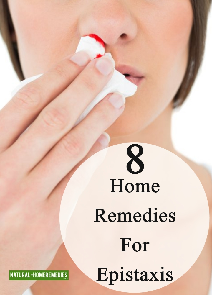 Home Remedies For Epistaxis