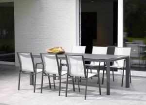 April outdoor furniture dining set