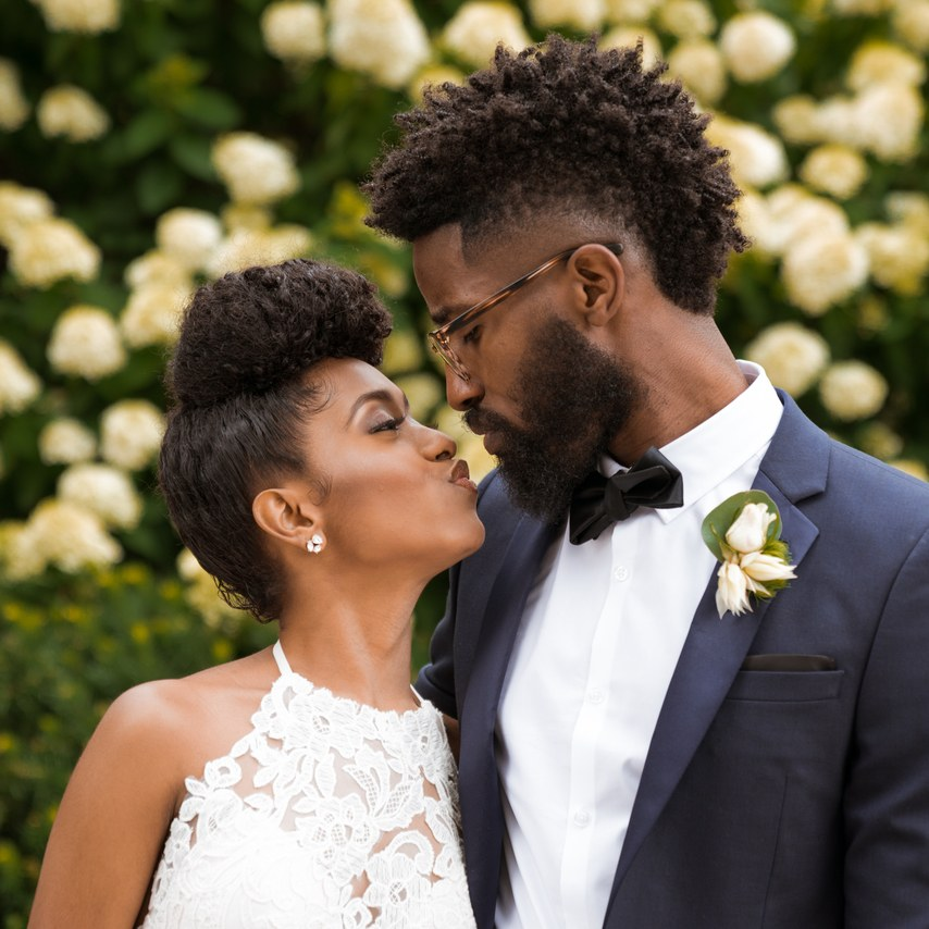 wedding hairstyles for natural black hair