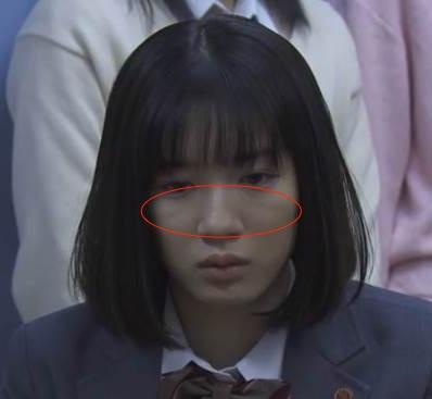 永野芽郁 頬の線 3年A組-2