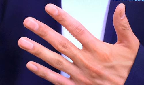 松坂桃李 手が綺麗 爪