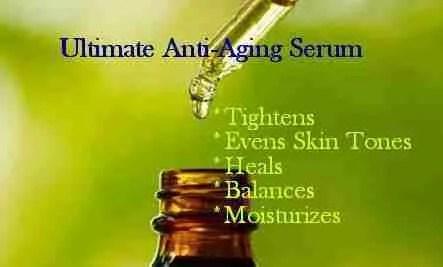 best anti aging serums homemade