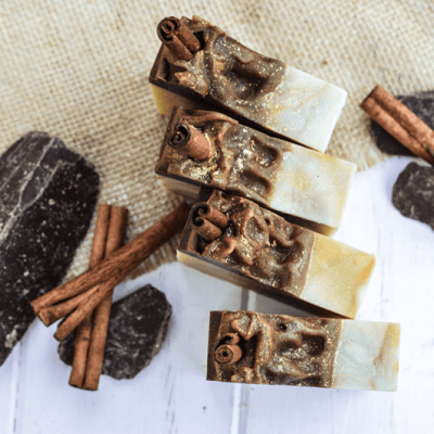 Dark Chocolate Pumpkin Soap Bars