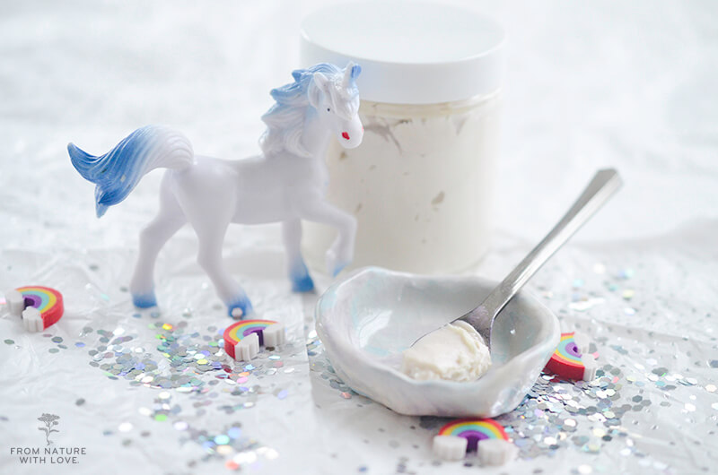 How to Make Shimmering Whipped Body Butter (Unicorn Body Butter) - Easy Recipe & Tutorial