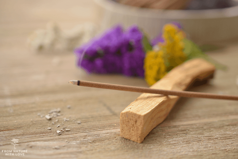 How to Make Incense Sticks Using Essential Oil - An easy tutorial for essential oil incense sticks