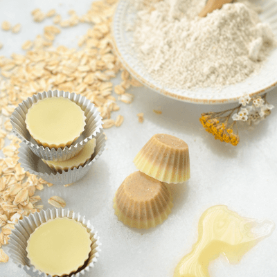 Oatmeal Honey Butter Bath Melts