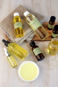 Natural beauty ingredients for hair care serum