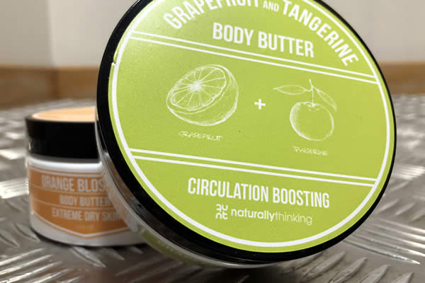 Body Butters with triple whipped cocoa and shea butter