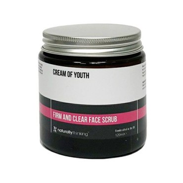 Cream of Youth Face Scrub to lift and replace vitality in the skin