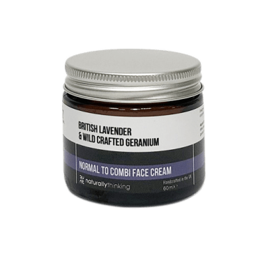Lavender and Geranium Face Cream for combination skin and acne prone skin