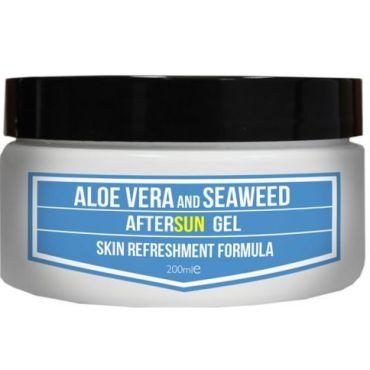 Aftersun Gel brings cooling relief to sunburnt skin