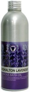Bath Oil made with Carshalton Lavender from the Surrey hills