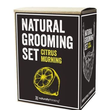 Citrus Morning Grooming Set