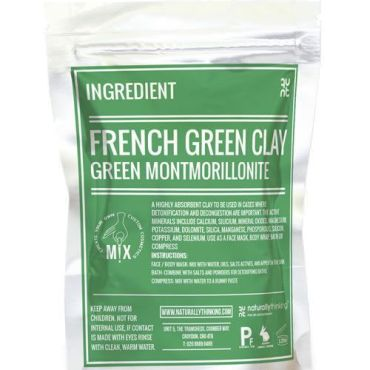Green Clay for the formulation of cosmetic face masks and body masks