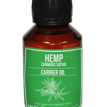 Hemp Carrier Oil, did you know that Hemp is clinically proven to alleviate dry skin
