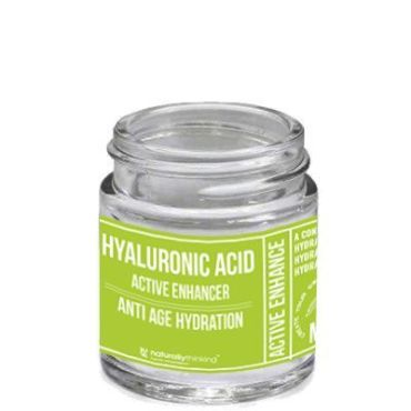 Hyaluronic acid gel for skin elasticity boost, suitable for mixing with aqueous solutions to produce anti ageing products