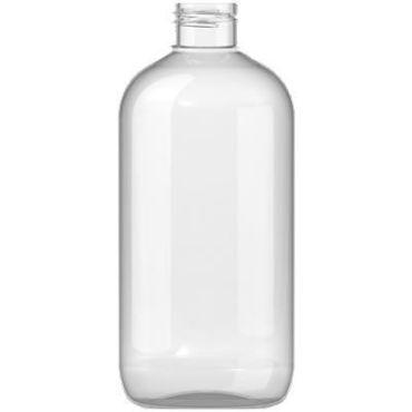 300ml Clear Plastic Bottle 24mm neck PET Plastic