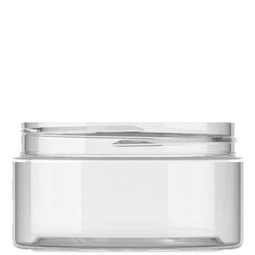 100ml Clear Plastic Jar with 70mm neckOut of Stock, Due to COVID-19 we currently do not have a restocking date