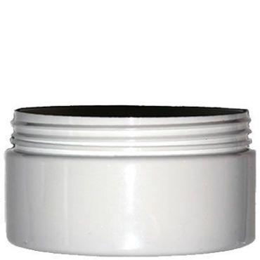 200ml white plastic jar for cosmetics