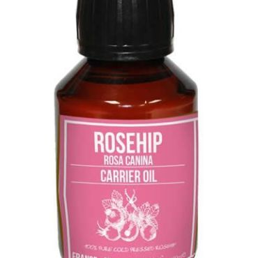 Rosehip oil for aromatherapy use and cosmetic formulation to improve wrinkles